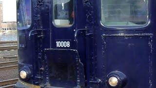 10008, Re 4/4, SLM 3889 Centralbahn AG mit HKX Wagen am Haken fährt durch Hbf Köln, 1. April 2013