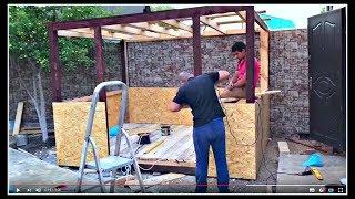 видео Как сделать беседку своими руками: материалы, строительство
