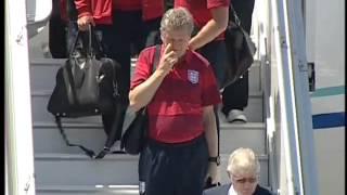 ТК Донбасс - Прилет сборной Англии в Донецк (Евро 2012)(Видео телеканала