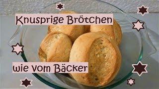 Mega knusprige Brötchen/Schrippen/Wecken wie vom Bäcker!