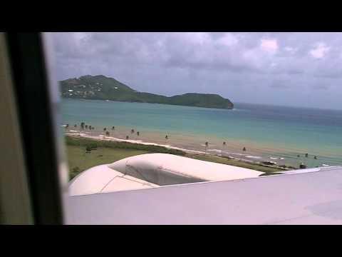AA landing St.Lucia(UVF)