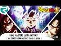Mastered Ultra Instinct Goku vs jiren part 1 | DUbstep Remix by Rowster Network
