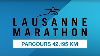 Lausanne Marathon Parcours 42,195 KM
