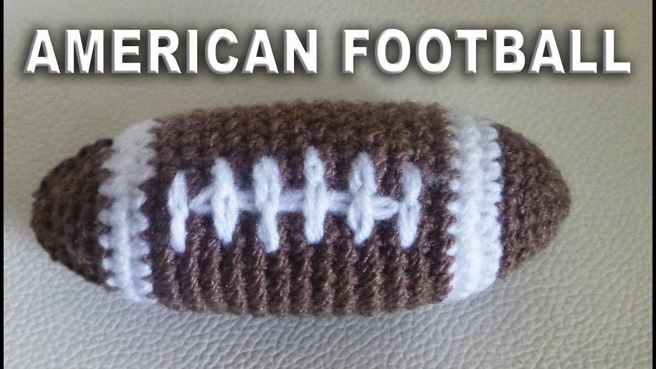 Kostenlose Anleitung Amerikanische Fußball Amigurumi Als Geschenk