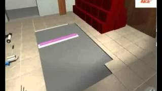 Plaatsingsinstructie Aquaberg RVS douchegoten