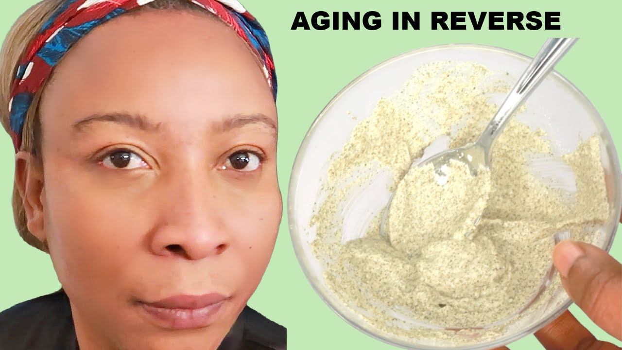 4 NATURAL INGREDIENTS TO REDUCE WRINKLES, SHRINK PORES, ANTI -- AGING MASK TO LOOK 10 YEARS YOUNGER