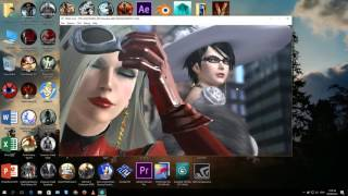 Cemu 1.6.0 | Bayonetta 2 | i5-6400 4,2ghz + GTX 1070 G1 Gaming Video