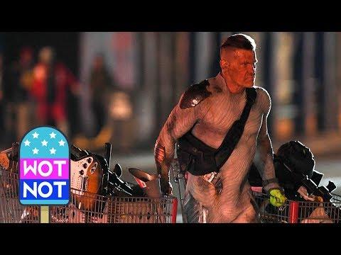 Josh Brolin Shopping at Army & Navy Filming Deadpool 2