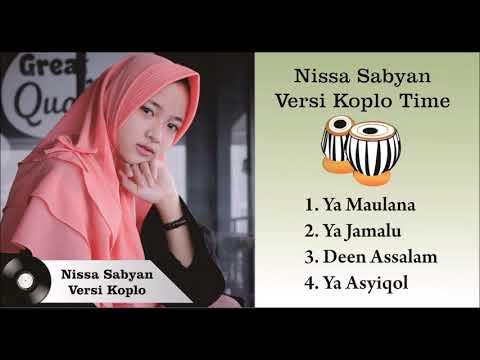 Lagu Nissa Sabyan Deen Assalam - Ya Maulana - Ya Jamalu Paling Enak Didengar