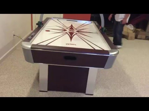 Air hockey table assembly service in Raleigh NC by Furniture Assembly Experts