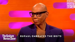 RuPaul Embraces The Brits | The Graham Norton Show | Friday, October 4 at 11pm | BBC America
