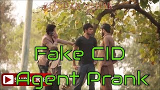 Fake CID Agent  Prank by Zeeshan Mehar -Prank in Pakistan