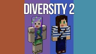 SNOOPY MAID ADVENTURE! - Minecraft Diversity 2 w/ Stacy Ep1
