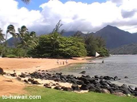 Puu Poa Beach Kauai Video 1