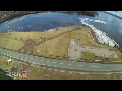 Annapolis Royal Tidal Station -by DronePiX