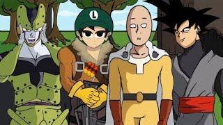 Fernanfloo, Black Goku Y Saitama Juegan En El Torneo De Cell Fortnite Animado | FERNANFLOO ANIMADO