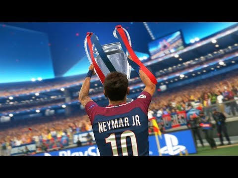 PES 2018 - UEFA Champions League Final - Real Madrid vs PSG (Cristiano Ronaldo, Neymar, Cavani)