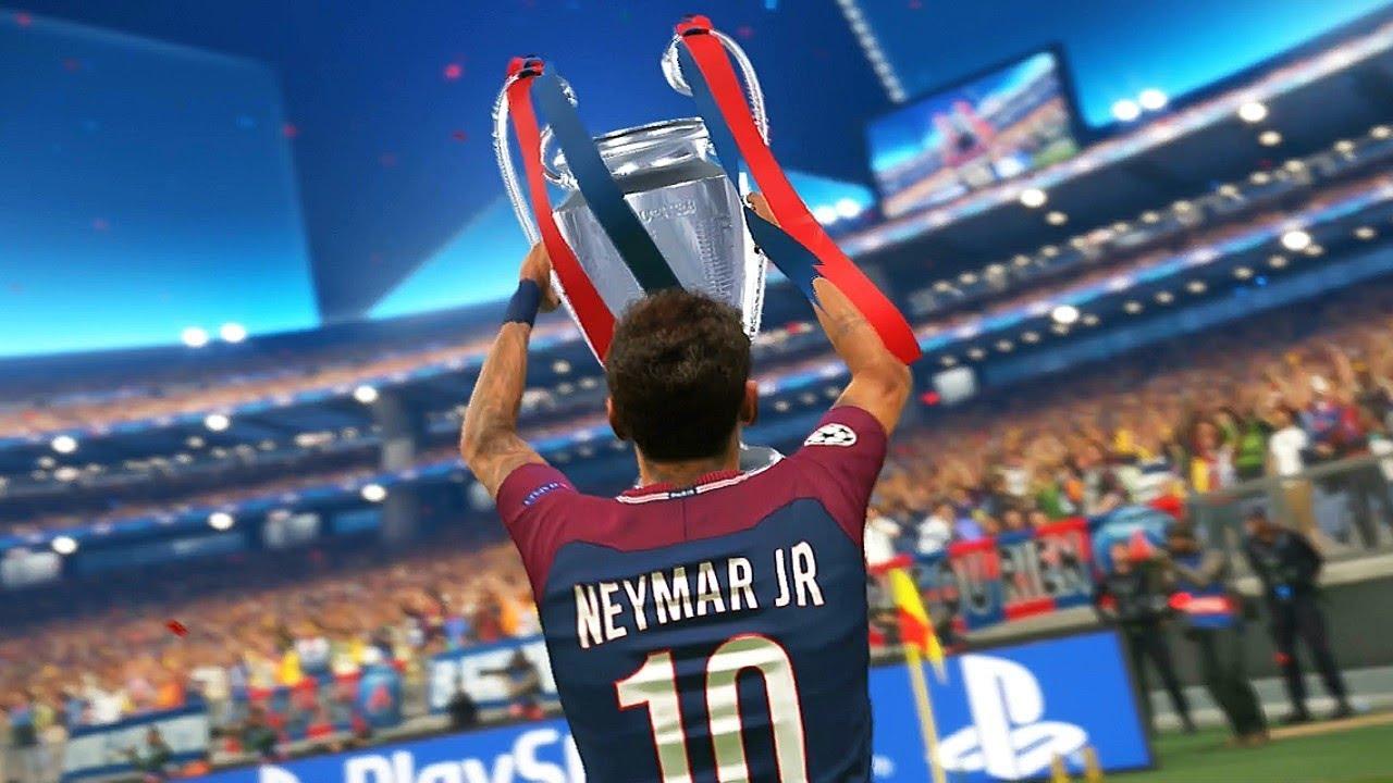 Pes 2018 Uefa Champions League Final Real Madrid Vs Psg