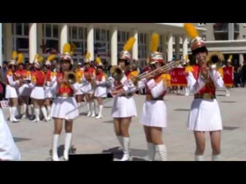 台湾北一女中樂儀旗隊