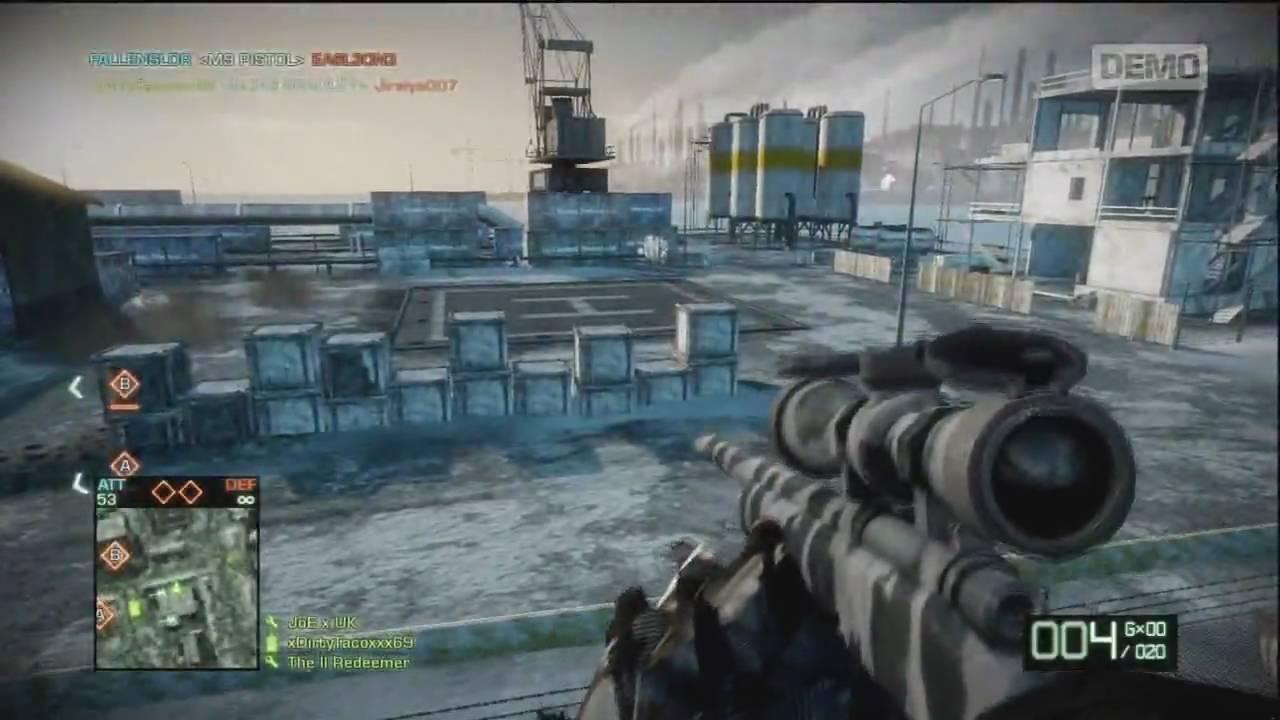 Battlefield bad company 2 (bbc2) demo glitches: secret room +.