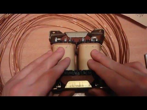 видео: Расчет и намотка трансформатора для ЛБП