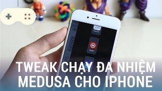 Vật Vờ| Tweak Medusa mang tính năng đa nhiệm iPad lên iPhone