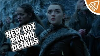 SPOILERS! Game of Thrones Season 8 secrets revealed in new Promos! (Nerdist News w/ Jessica Chobot)