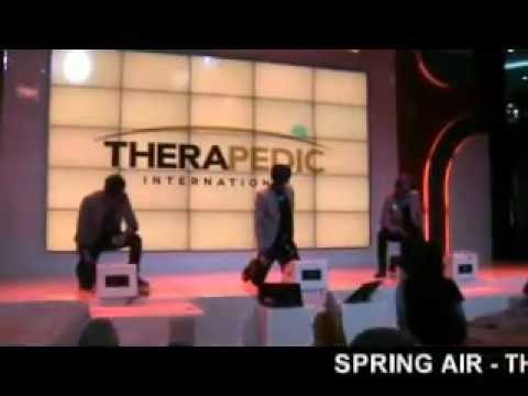 HITZ BOY BAND IN THERAPEDIC - SPRING AIR - ANGRY BIRD - PROTECT A BED FAIR & PROMO (5)