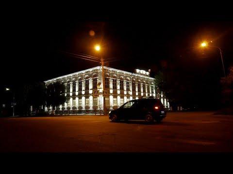 Архитектурно-художественная подсветка обозначила целую галерею исторических зданий Шадринска