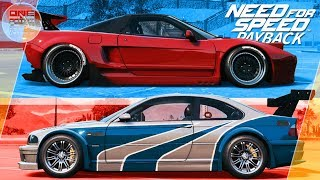 Need For Speed: Payback (2017) - BMW M3 ИЗ NFS MW VS HONDA NSX!