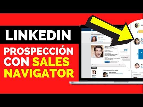 🔟 Prospección LinkedIn SALES NAVIGATOR | Cómo prospectar leads / clientes