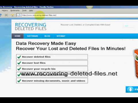 how to restore a lost excel document