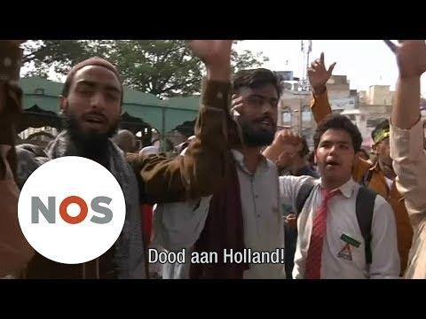 WILDERS: Protest in Pakistan tegen cartoonwedstrijd