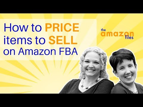 How to Price your items to sell on Amazon FBA