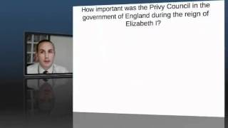 AS History   Privy Council Revision Techniques