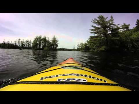 Leisurely Paddle along the shore of Grafton Pond GOPR0038