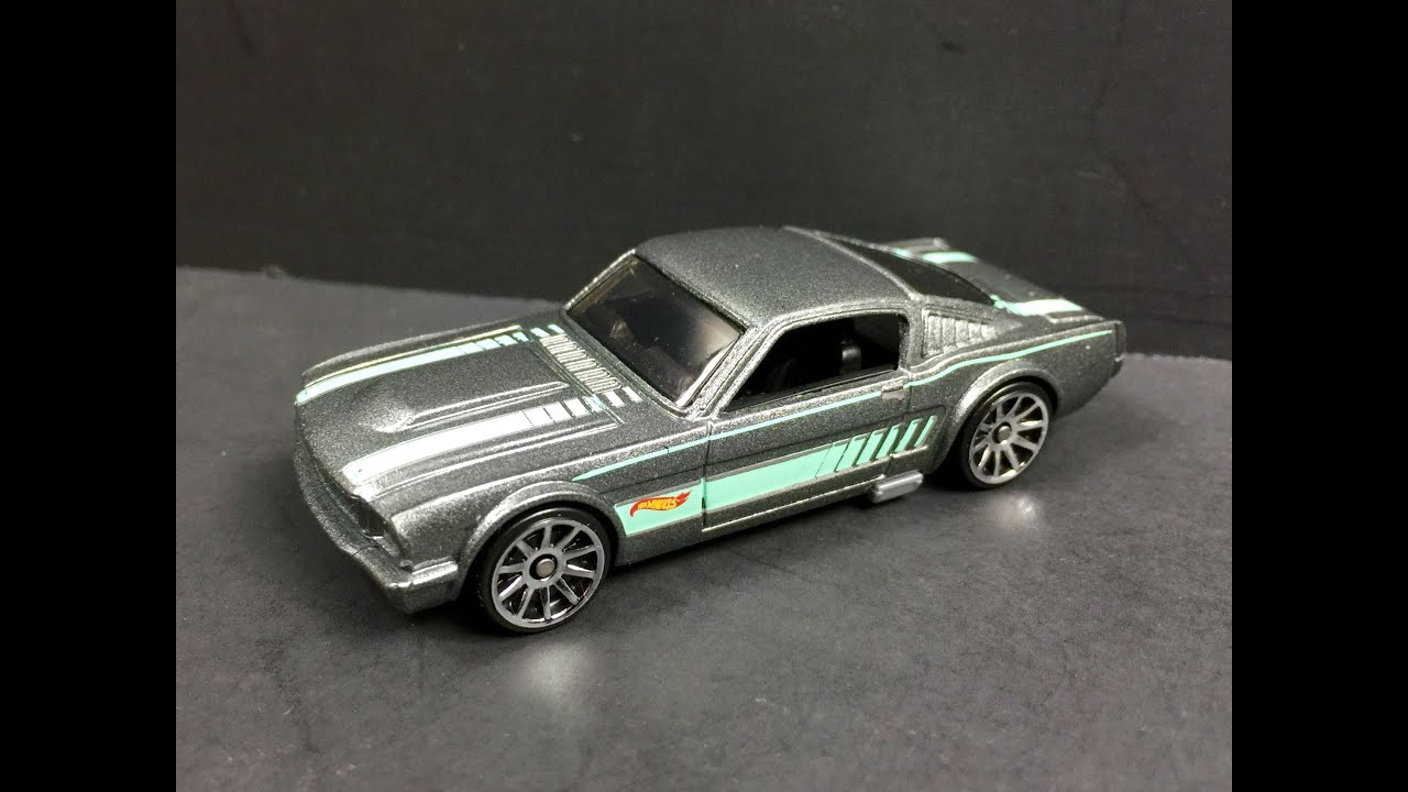 Hot wheels 1965 mustang 2 2 fastback review 164