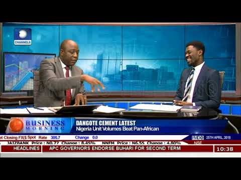Dangote Cement: Nigeria Unit Volumes Beat Pan -African Pt.1 |Business Morning|
