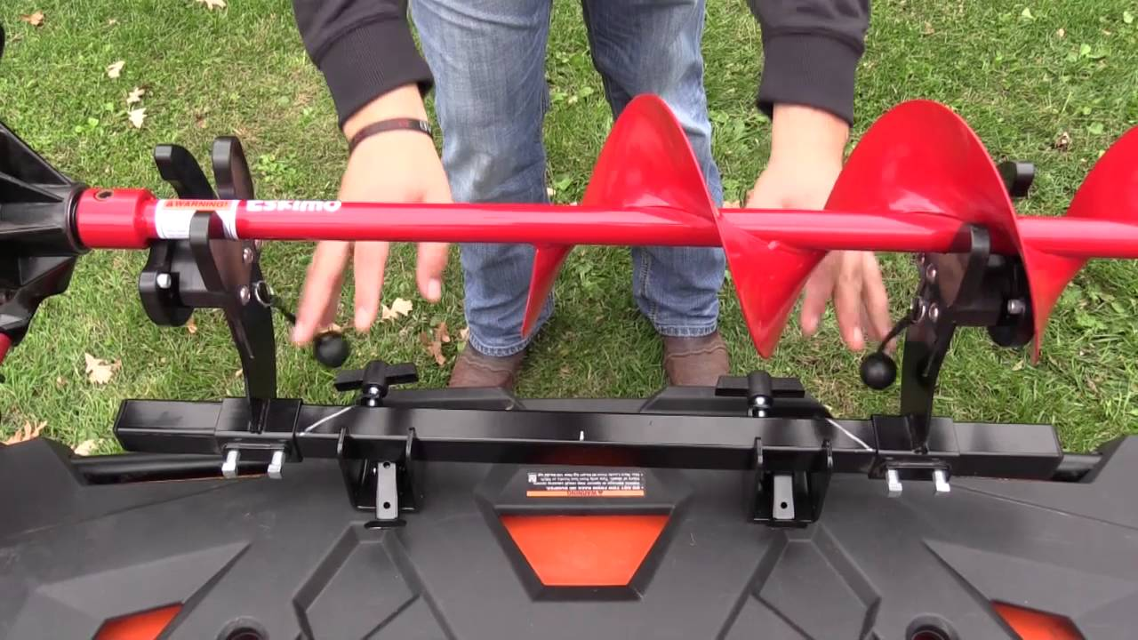 Ice Auger Carrier By Js Customs