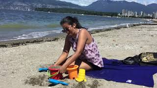 Beach ASL exploring