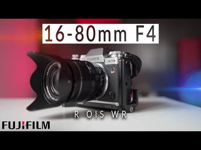 Fujinon XF 16-80mm F4 | RECENSIONE ITA [ Fujifilm X-T3]