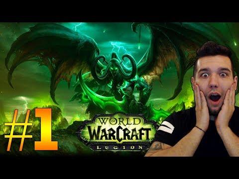 World of Warcraft: Legion [BLIZZARD] #1 НАДУВАМЕ КЛАКСОНА НА МОТОРА!