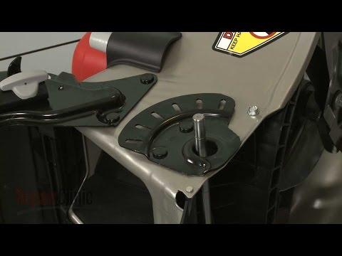 Right Rear Wheel Plate - Honda Lawn Mower