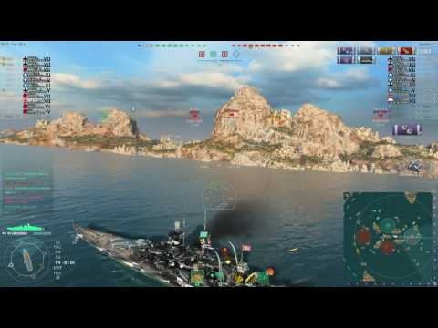 #Epic Game - World of Warships - Gneisenau #2 - Double-kill with torpedos
