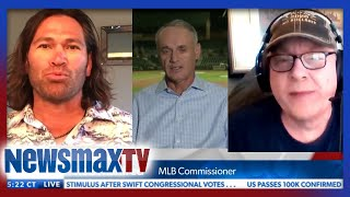 Curt Schilling, Johnny Damon react to MLB Commissioner's COVID-19 plans