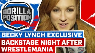Becky Lynch Exclusive: On WrestleMania, the match finish, Vince's reaction, Ronda, unifying titles