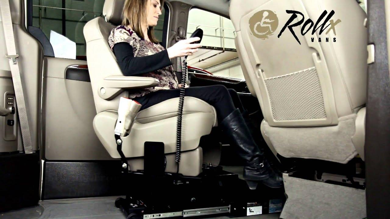 Rollx Vans Transfer Base Our Custom Handicap Swivel Car Seat
