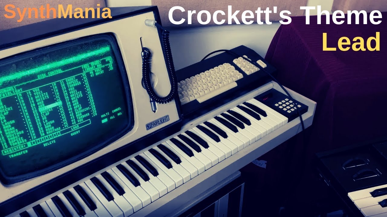 Crockett's Theme lead - YouTube