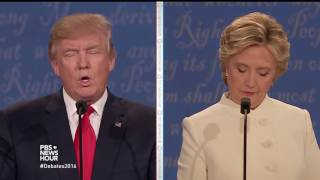 Watch the full  third presidential debate between Hillary Clinton and Donald Trump