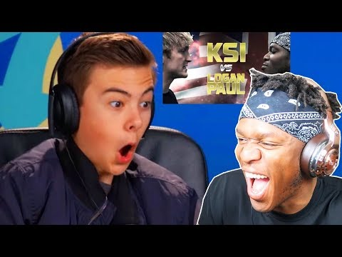 "KSI REACTS TO ""TEENS REACT TO LOGAN PAUL VS KSI BOXING MATCH"""